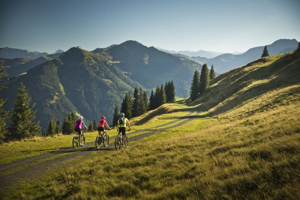Mountain bike tour in Saalbach with heavenly panorama views