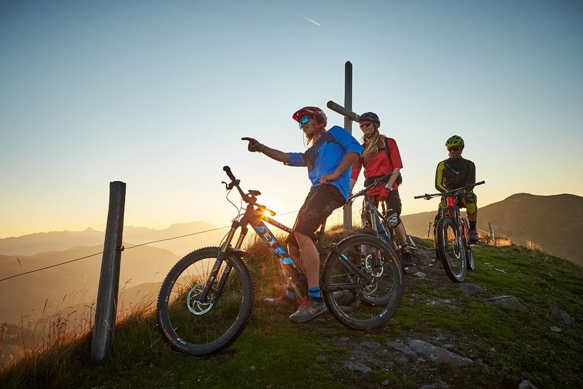Bike Trails in Saalbach