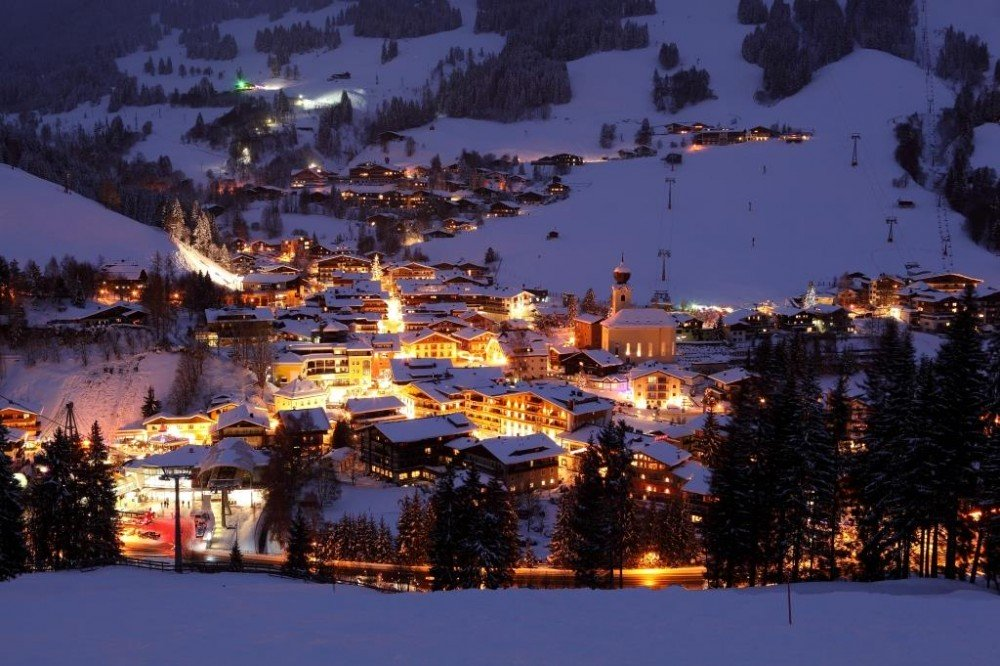 Saalbach in Winter