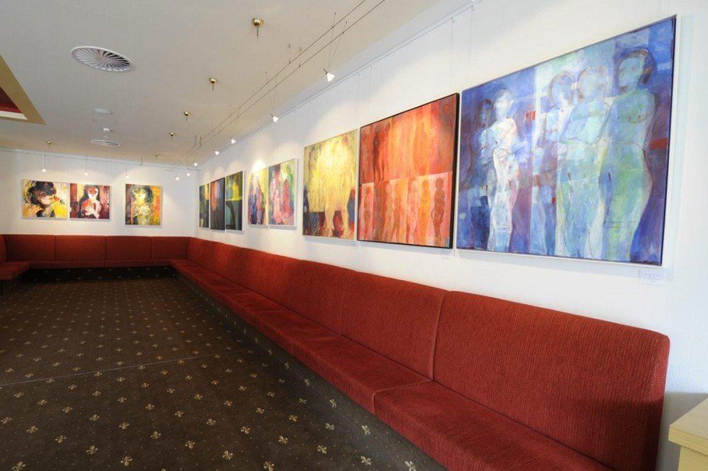 Art exhibition at the Hotel Saalbacher Hof