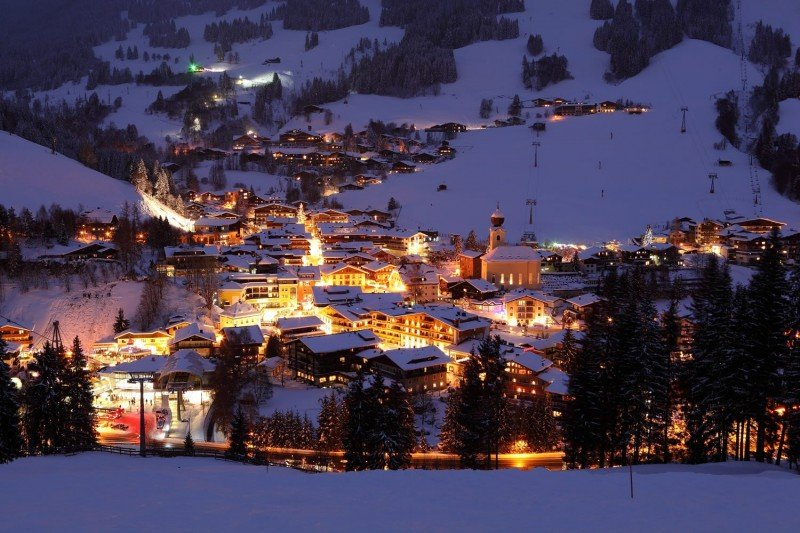 Christmas in Saalbach